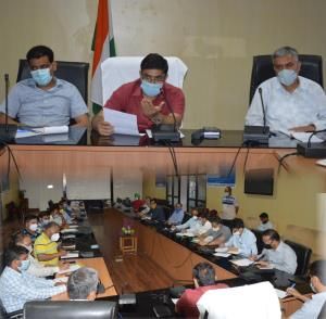 DDC Poonch discusses implementation of Mission Yo...