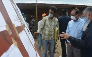 Advisor Bhatnagar visits Sheep Breeding and Resea...