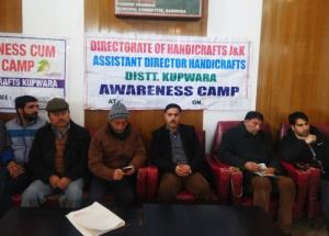 Handicrafts Awareness camp at Handwara