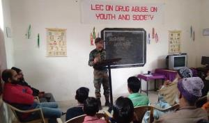 Army spreads Awareness Drive on ill Effects of Dr...