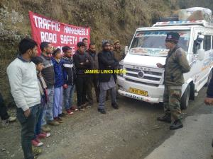 Army conducts road safety awareness campaign in B...