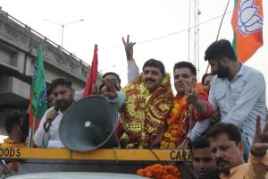 BJP takes out victory rally in Jammu