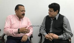 Former FTII Chairman calls on Dr Jitendra