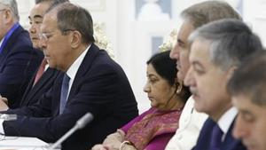 At SCO meeting, India and Pakistan ministers sit ...
