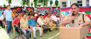 Drug awareness programme organized at Railway Sta...
