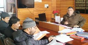 DDC Kulgam reviews implementation of DEP
