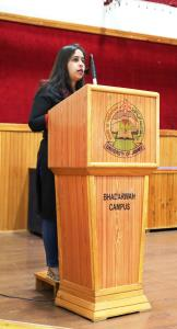 Lecture on e-waste organized at Bhaderwah Campus