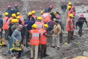 Gurugram building collapse: 20 feared trapped