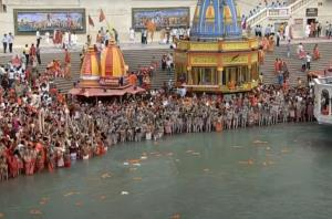 Kumbh 2021: Akharas, sadhus take part in second