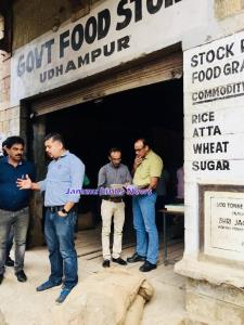 Director FCS&CA Amit inspects Udhampur Mills & St...