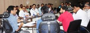 DC Rajouri reviews functioning of Health departme...