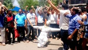 Beopar Mandal Udhampur protests against hike in t...