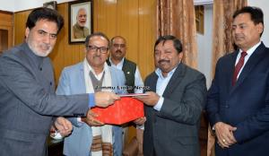 Dheeraj Gupta accorded farewell