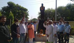 Ganga pays homage to Brig Rajinder Singh