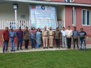 J&K Police organizes national art workshop at Pat...