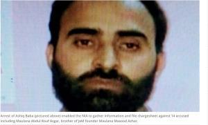 NIA charge-sheets Maulana Masood Azhar