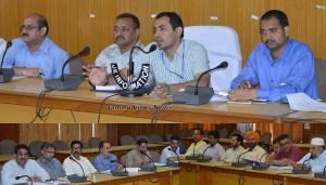 DDC Udhampur holds DISHA review meet