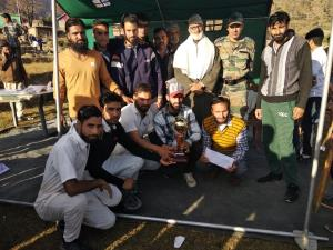 Army conducts Cricket League Tournament