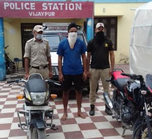 2 stolen motorcycles recovered