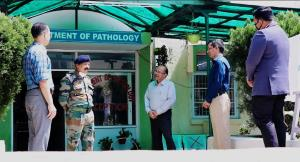 Army opens command hospital to assist J&K adminis...