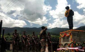 Tributes paid to martyr Naib Subedar Chunni Lal o...