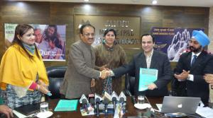 JMC signs MoU with ITI Limited for 'Jammu Suraksh...