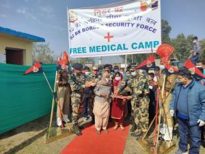 BSF organizes free medical camp