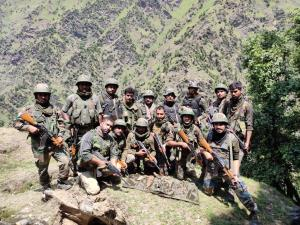 Security forces bust terrorist hideout in Kishtwar