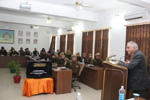 Retd DGP delivers lecture on 'Citizen Centric Adm...