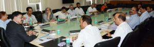 Advisor Vijay Kumar reviews functioning of health...