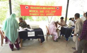 Military Mega Medical Camp organised at Hamirpur