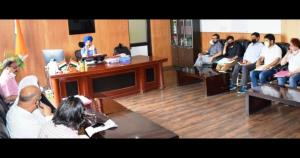 DDC Kishtwar reviews progress on implementation o...