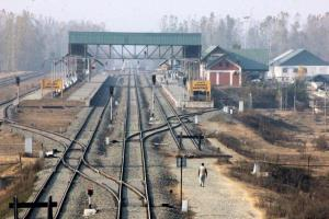 Train services suspended across Kashmir