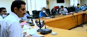 DC Kathua reviews progress under Jal Jeevan Missi...