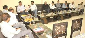 Ajit Kumar reviews preparation of Ramban Water Se...