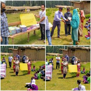 CEO Baramulla visit community schools established...