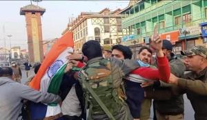 Why national flag hoisting prevented in Srinagar?...