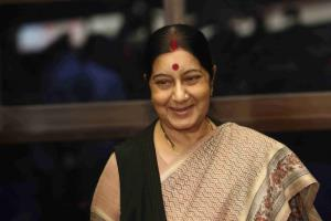 Leaders remember Sushma Swaraj on her first death...