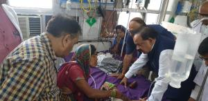 Vardhan assures help to ailing children in Bihar,...