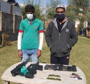 3 terrorist associates of LeT, HM held in Kupwara...