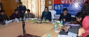 DDC reviews implementation of Ayushman Bharat Sch...