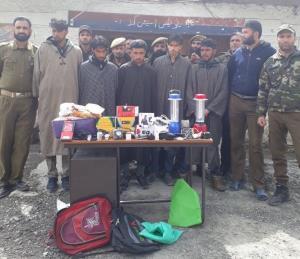 5 burglars arrested, stolen items recovered in Ka...