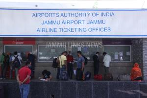Jammu, Srinagar Airports receive 22 domestic flig...