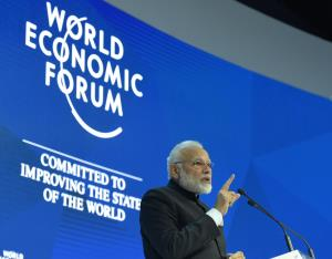 Davos 2018: Modi warns against protectionism, hig...