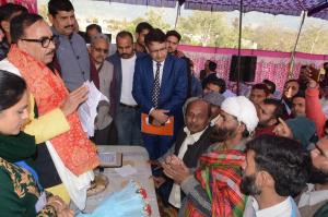 Union Minister Dr MN Pandey conducts Public Outre...