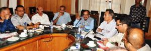 PCCF chairs meeting regarding handing over of mar...