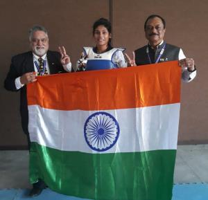 SAGs 2019: Indian Taekwondo team returns with glo...