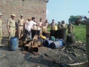 3000 litres Lahan destroyed, 20 litres Illicit li...