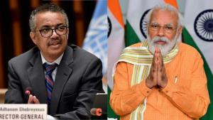 WHO chief Ghebreyesus thanks PM Modi for