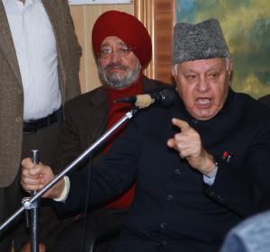 J&K BJP slams Farooq Abdullah over his